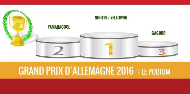 Allemagne 2016, Vainqueur, Ninie14