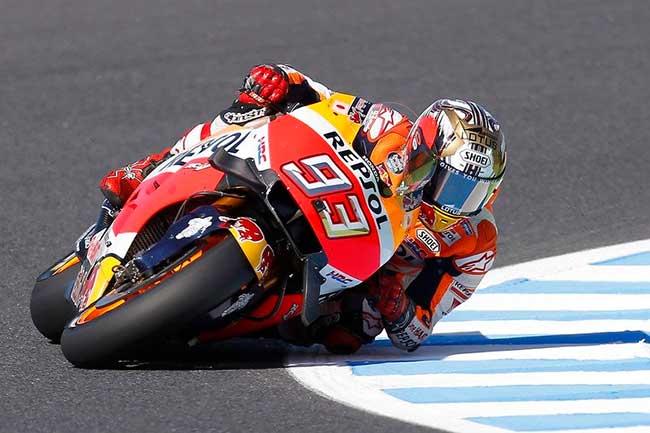 Marc Marquez (Repsol Honda) Champion du monde 2016