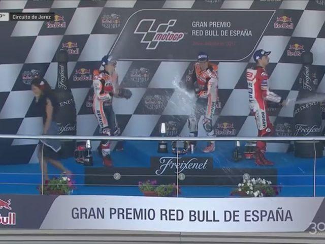Dani Pedrosa (Repsol Honda) vainqueur du Grand Prix d'Espagne 2017