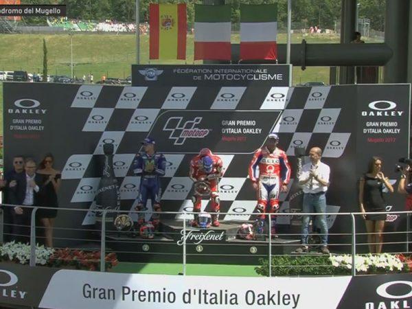 Andrea Dovizioso (Ducati Team) vainqueur du Grand Prix d'Italie 2017