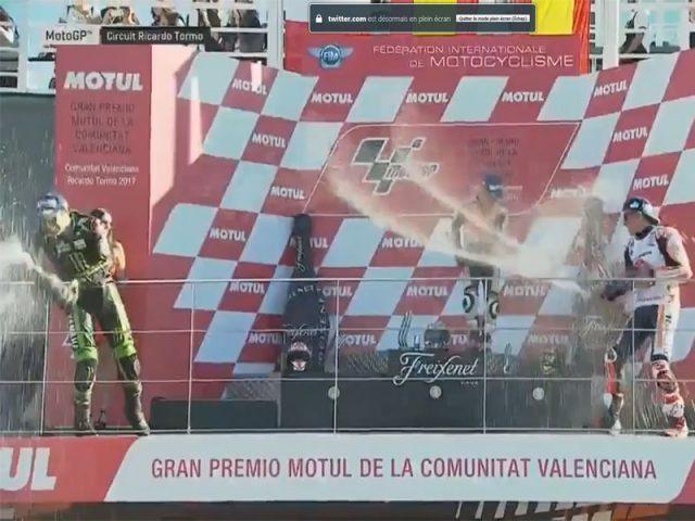 Dani Pedrosa (Honda Repsol) vainqueur du Grand Prix de Valence 2017