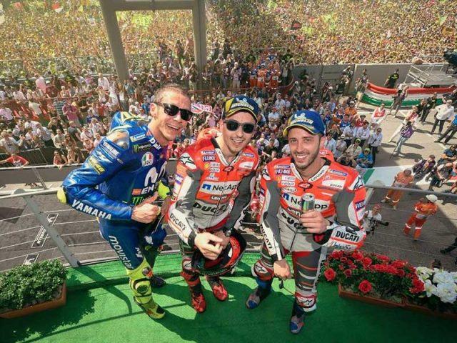 Jorge Lorenzo (Ducati Team) vainqueur du Grand Prix d'Italie 2018