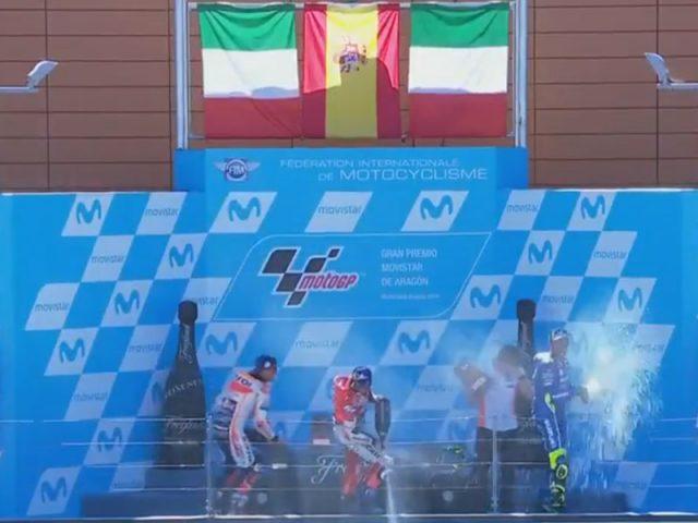 Marc Marquez (Repsol Honda) vainqueur du Grand Prix d'Aragon 2018