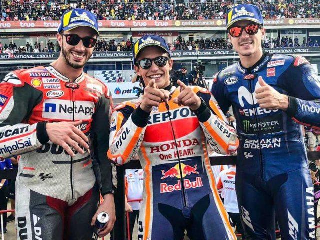 Marc Marquez (Repsol Honda) vainqueur du Grand Prix de Thaïlande 2018