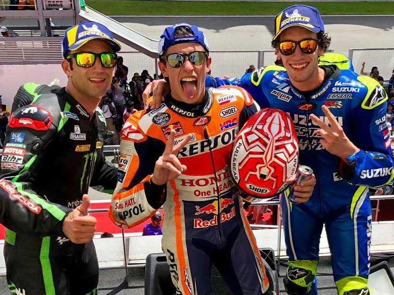 Marc Marquez (Repsol Honda) vainqueur du Grand Prix de Malaisie 2018