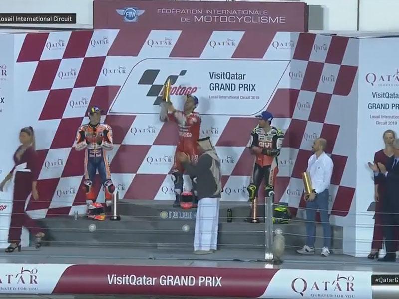 Andrea Dovizioso (Ducati Team) vainqueur du Grand Prix du Qatar 2019
