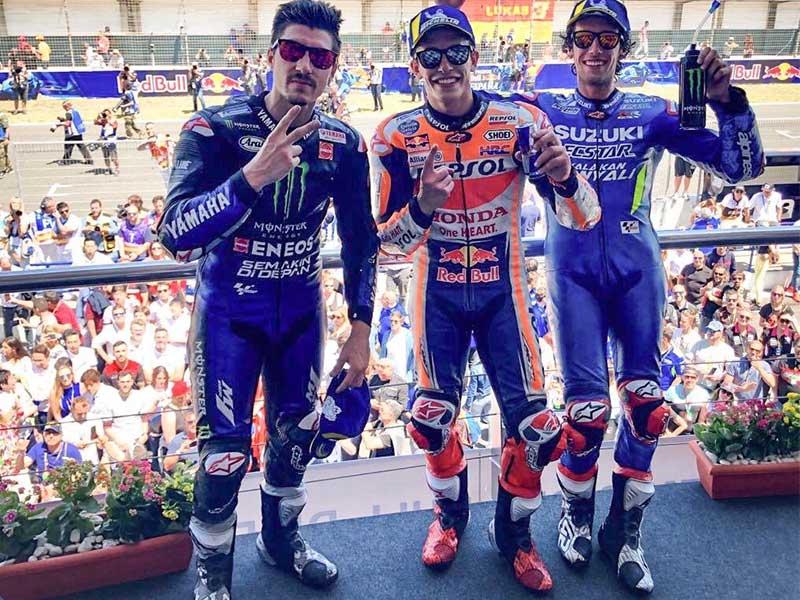 Marc Marquez (Repsol Honda Team) vainqueur du Grand Prix d'Espagne 2019