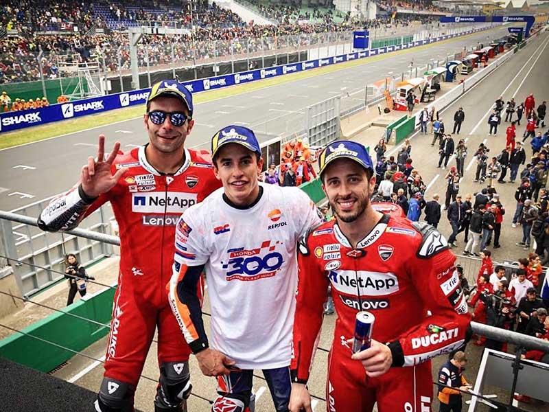Marc Marquez (Repsol Honda Team) vainqueur du Grand Prix de France 2019