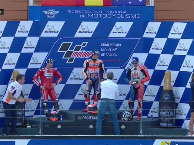 Marc Marquez (Repsol Honda Team) vainqueur du Grand Prix de Aragon 2019