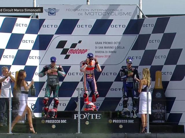 Marc Marquez (Repsol Honda Team) vainqueur du Grand Prix de Saint-Marin 2019