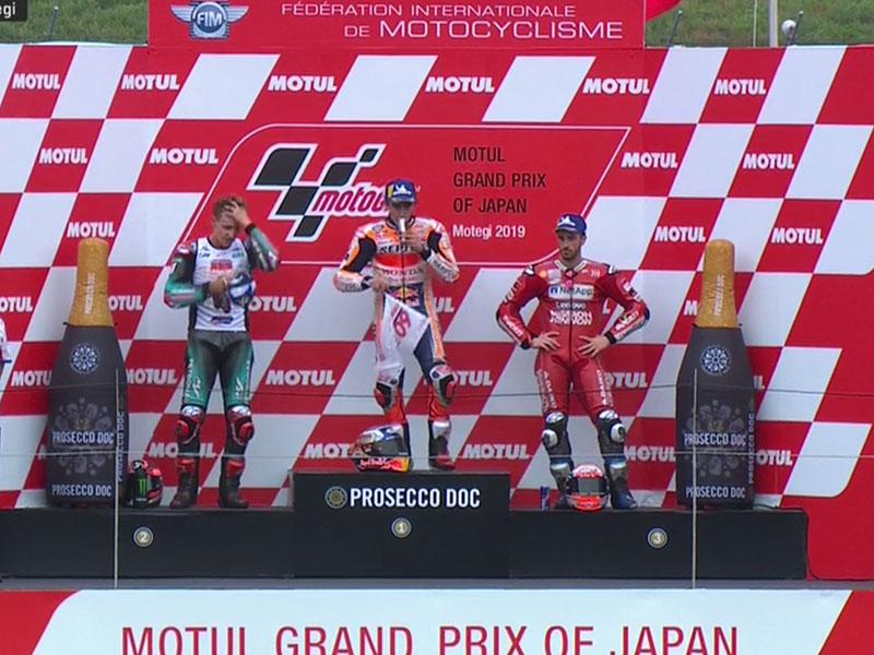 Marc Marquez (Repsol Honda Team) vainqueur du Grand Prix du Japon 2019