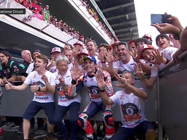 Marc Marquez (Repsol Honda Team) vainqueur du Grand Prix de Thaïlande 2019