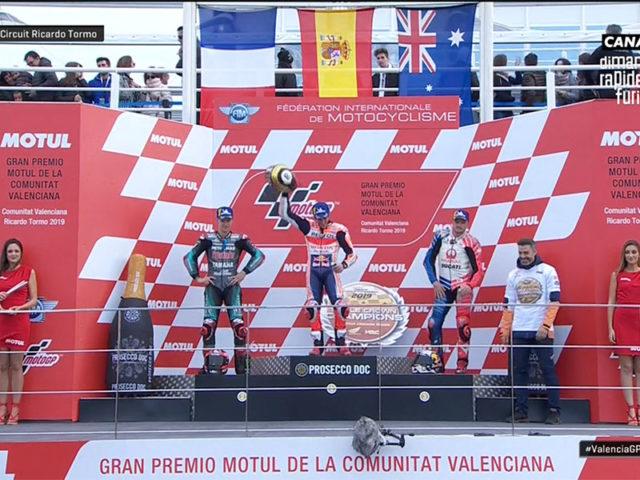 Marc Marquez (Repsol Honda Team) vainqueur du Grand Prix de Valence 2019