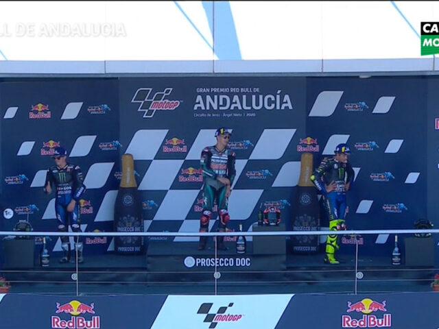 Fabio Quartararo (Petronas Yamaha SRT) vainqueur du Grand Prix d'Andalousie 2020