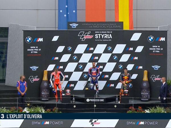 Miguel Oliveira (Red Bull KTM Tech 3) vainqueur du Grand Prix de Styrie 2020