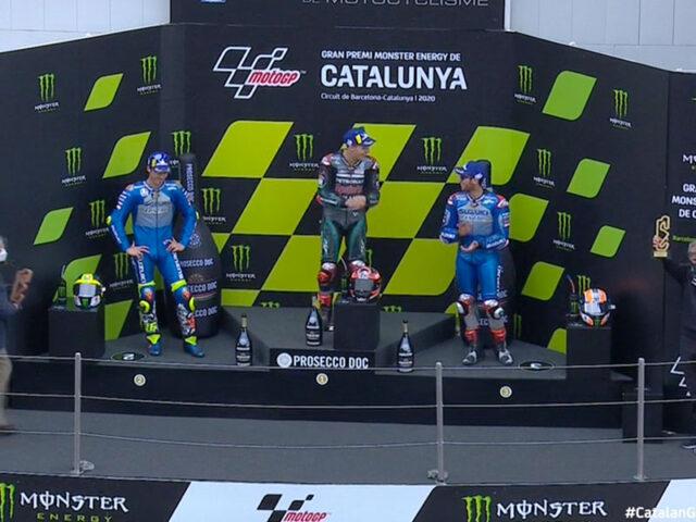 Fabio Quartararo (Petronas Yamaha SRT) vainqueur du Grand Prix de Catalogne 2020