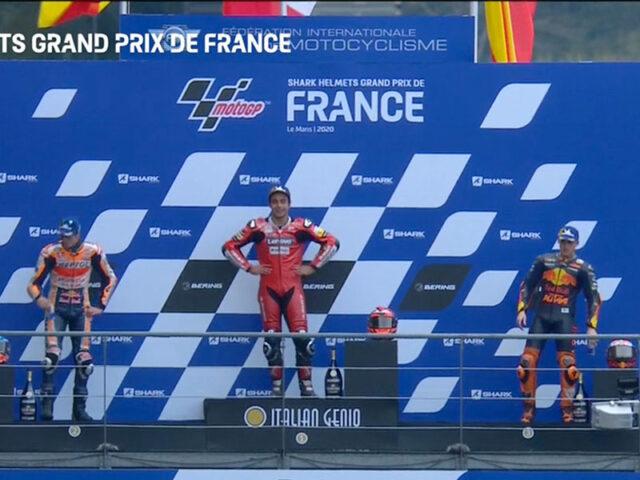 Danilo Petrucci (Ducati Team) vainqueur du Grand Prix de France 2020