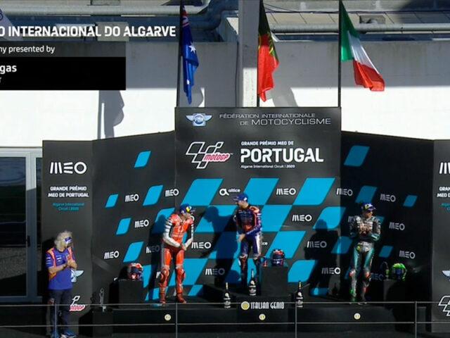 Miguel Oliveira (Red Bull KTM Tech 3) vainqueur du Grand Prix du Portugal 2020