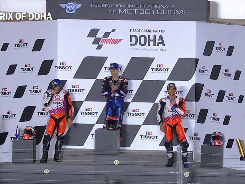 Fabio Quartararo (Monster Energy Yamaha MotoGP) vainqueur du Grand Prix de Doha 2021