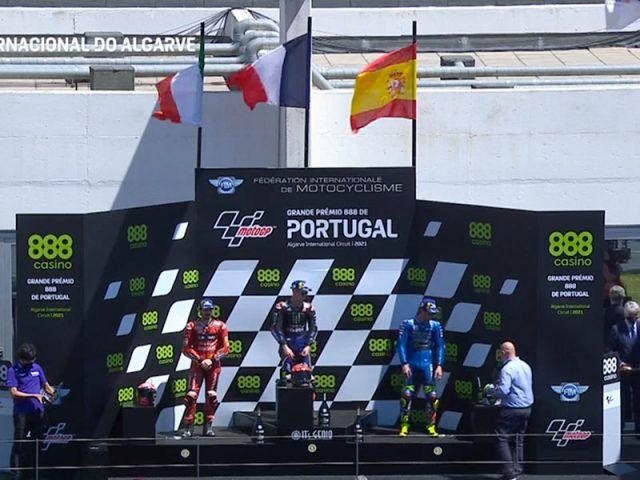 Fabio Quartararo (Monster Energy Yamaha MotoGP) vainqueur du Grand Prix du Portugal 2021