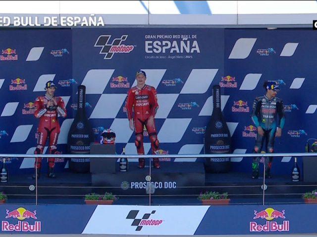 Jack Miller (Ducati Lenovo Team) vainqueur du Grand Prix d'Espagne 2021