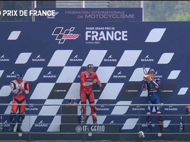 Jack Miller (Ducati Lenovo Team) vainqueur du Grand Prix de France 2021