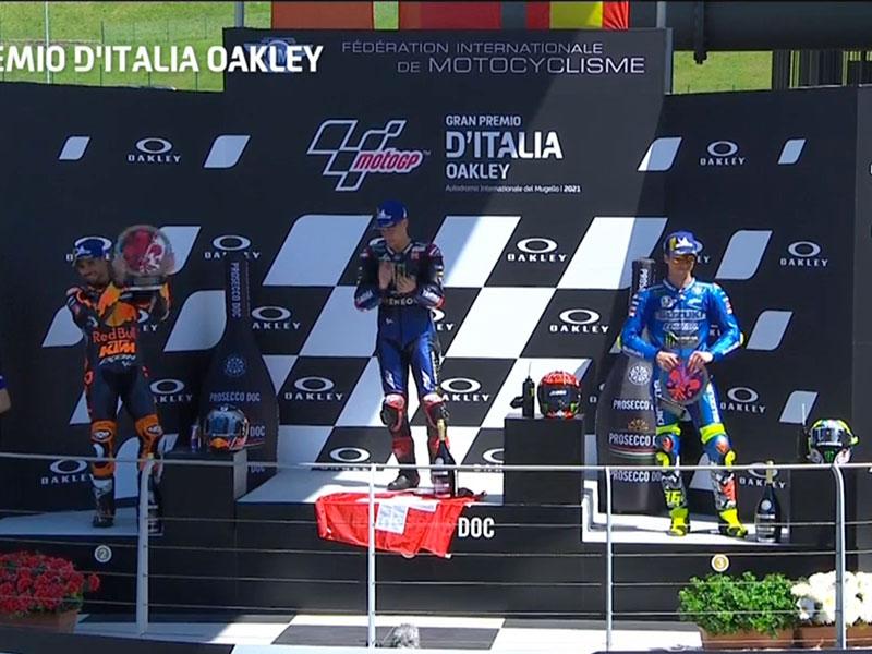 Fabio Quartararo (Monster Energy Yamaha MotoGP) vainqueur du Grand Prix d'Italie 2021