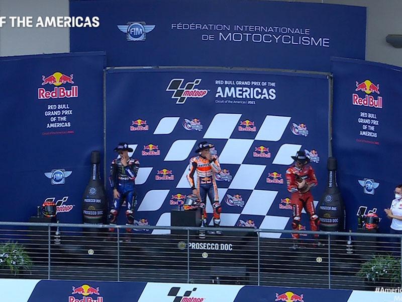 Marc Marquez (Repsol Honda Team) vainqueur du Grand Prix des Amériques 2021